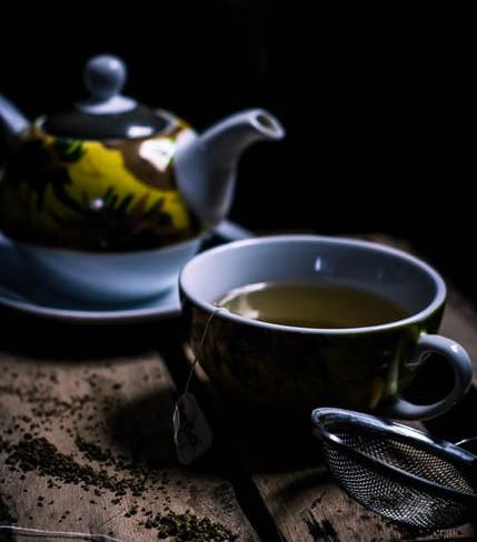 Moringa Oleifera And Ginger Tea